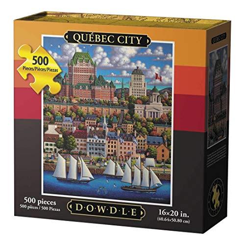 Dowdle Jigsaw Puzzle - Quebec City - 500 Piece (Best Of Quebec City)