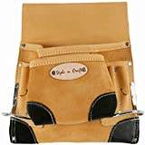 Style n Craft 93-823 8 Pocket Top Grain Tool Belt Pouch