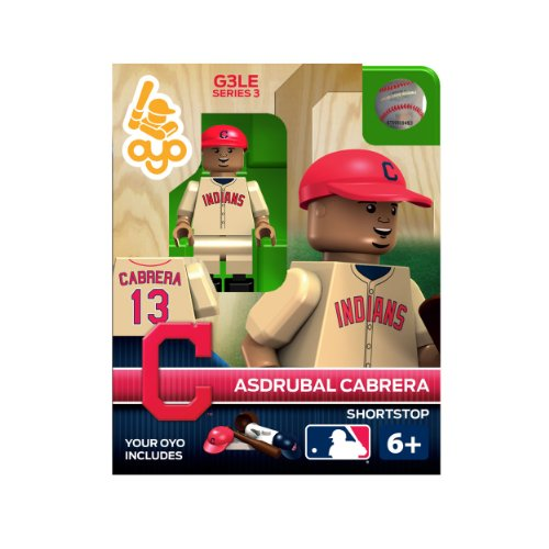 MLB Cleveland Indians Asdrubal Cabrera Generation 3 Toy Figure