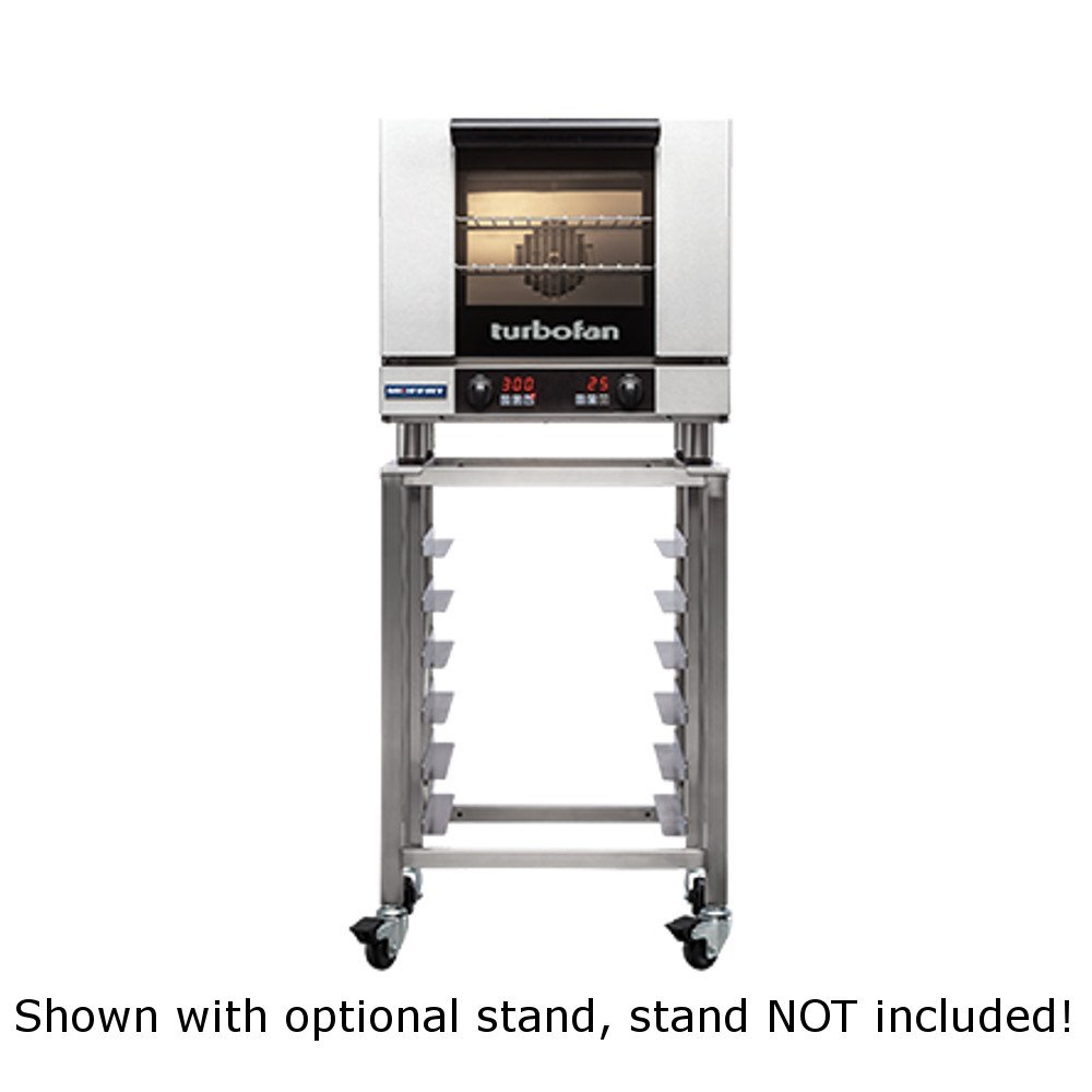 Moffat E23D3 Turbofan Electric Countertop Convection Oven, (3) 1/2 Size Sheet Pan Capacity & Digitial Controls