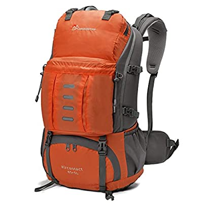 Mardingtop 50L Camping Backpack with Rain Cover for Hiking Outdoor Climbing Travel