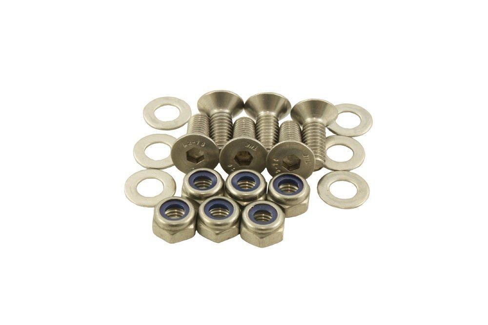 Bearmach Stainless steel Bonnet Hinge Bolt Kit 90 110 Defender 90 & 110 All models BK 0189