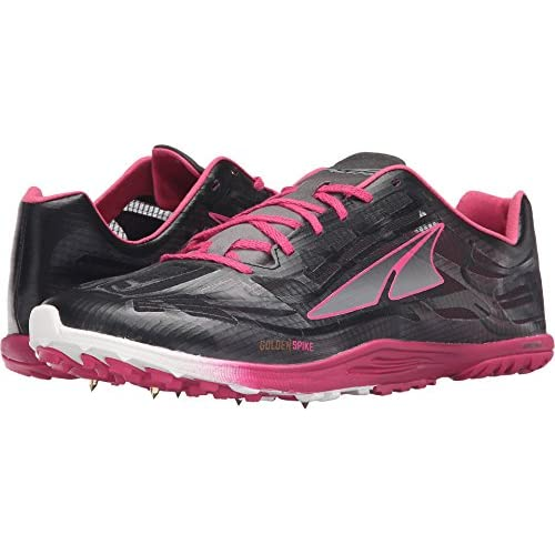 Altra Men's Golden Spike Running Shoe, Black/Diva Pink, 12.5 M US