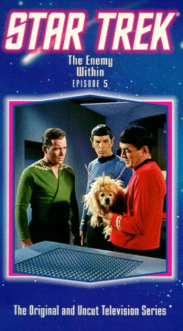 Star Trek - The Original Series, Episode 5: The Enemy Within [VHS]