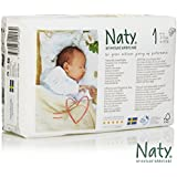 Nature Babycare Eco-Diapers, Size 1, 104 Count