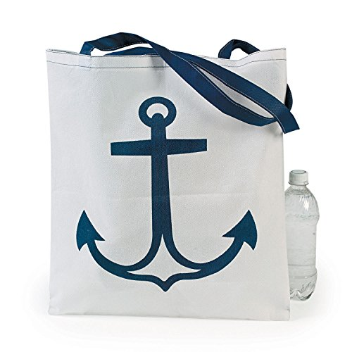 12 Nautical Anchor Tote Bags