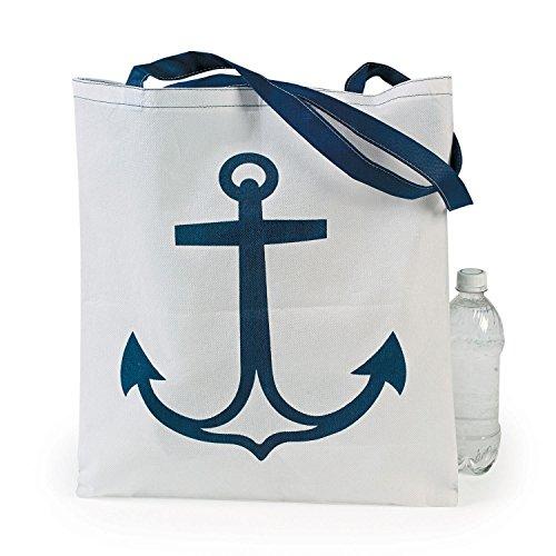 12 Nautical Anchor Tote Bags