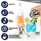 Cresimo 24 Ounce Cocktail Shaker Bar Set with