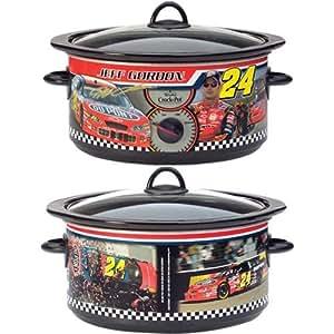 Rival Jeff Gordon NASCAR Special Edition Slow Cooker