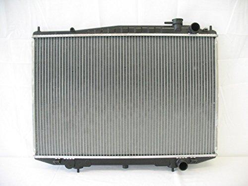 Klimoto Brand New Radiator fits Nissan Frontier 1998-2004 2.4L 3.3L Xterra 00-04 2.4L 3.3L L4 V6 Manual Trans 214103S00 214604S100 2146092000 214609Z000 ()