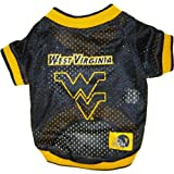 Mirage Pet Products West Virginia University Jersey for Dogs and Cats, X-Small