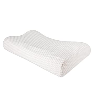 nursal contour memory foam pillow neck optimum support pillow for pain relief orthopedic