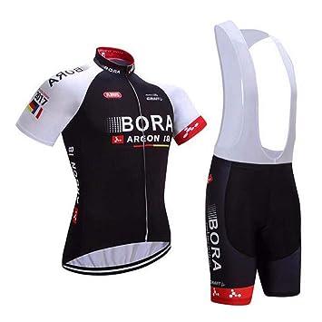 logas Hombre Camiseta de Ciclismo 3D Padded Bib Pantalones ...
