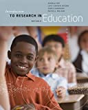 Introduction to Research in Education, Ary, Donald and Jacobs, Lucy Cheser, 1133596746