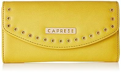 Caprese Lian Women's Medium Wallet (Yellow)