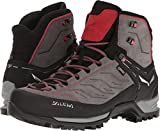 Salewa Men's Mountain Trainer Mid GTX Alpine Trekking Boot, Charcoal/Papavero, 12