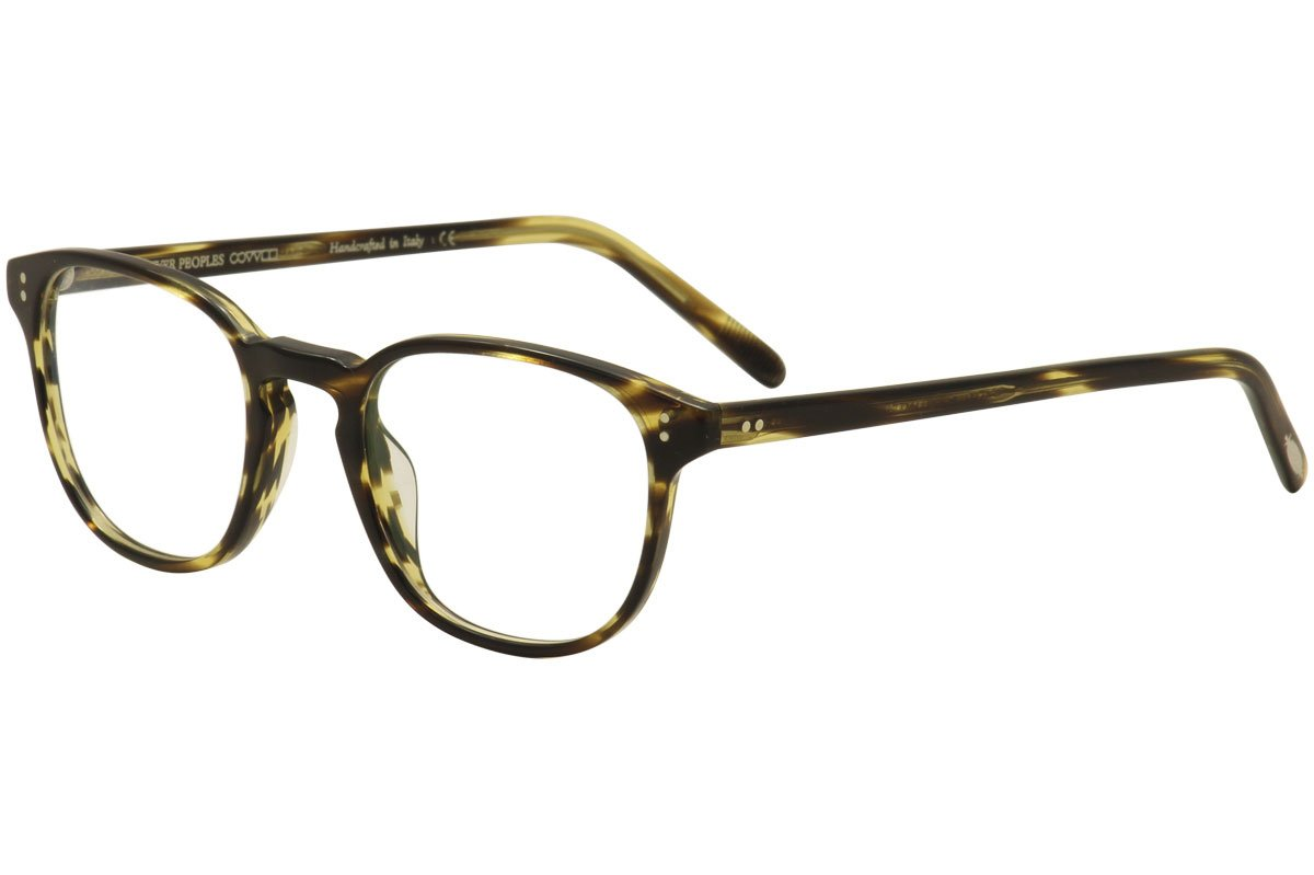 ee458ebe52 Amazon.com  Oliver Peoples Fairmont OV5219 Eyeglasses-1003 Cocobolo-49mm   Health   Personal Care