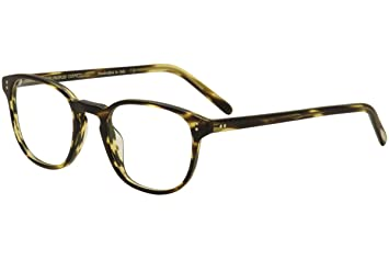 cad3ce69c2c52 Amazon.com  Oliver Peoples Fairmont OV5219 Eyeglasses-1003 Cocobolo ...