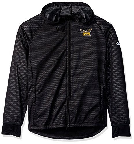 adidas NCAA Kennesaw State Owls Adult Women Team Logo Climastorm Full Zip Jacket, Small, Black