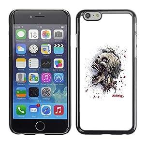 Stuss Case / Funda Carcasa protectora - Cráneo Zombie Evil - iPhone 6
