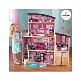 DOLLHOUSE BARBIE MANSION Dolls KidKraft Dollhouses With Furniture Family Dora Wooden Antique Miniature Doll House With Accessories Makes A Great Gift On Every Occasion.