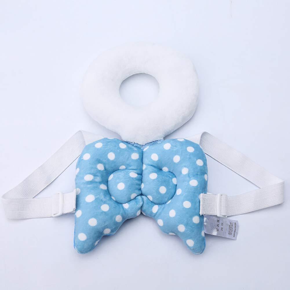 SDGDFXCHN Abeja Almohadilla Protectora para reposacabezas de beb/é con alas de /ángel 31 cm algod/ón