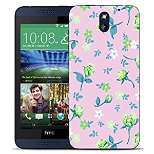New Hard Printed BEAU ARTS Cover for HTC Desire 610 case - beautiful floriated & Stylus by icecream design