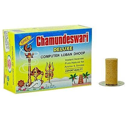 Sree Chamundeswari Deluxe Computer Sambrani Loban Dhoop, 1 5
