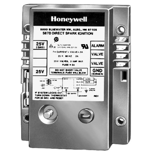 Honeywell, Inc. S87B1008 Direct Spark Ignition Module, 6 sec Trial Time ()