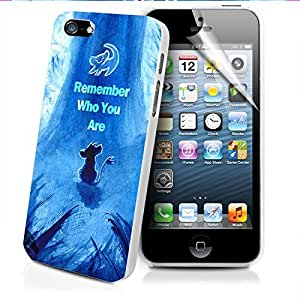 The Lion King Movie Remember Who You Are Simba Iphone and Samsung Galaxy Case (iPhone 6 white)