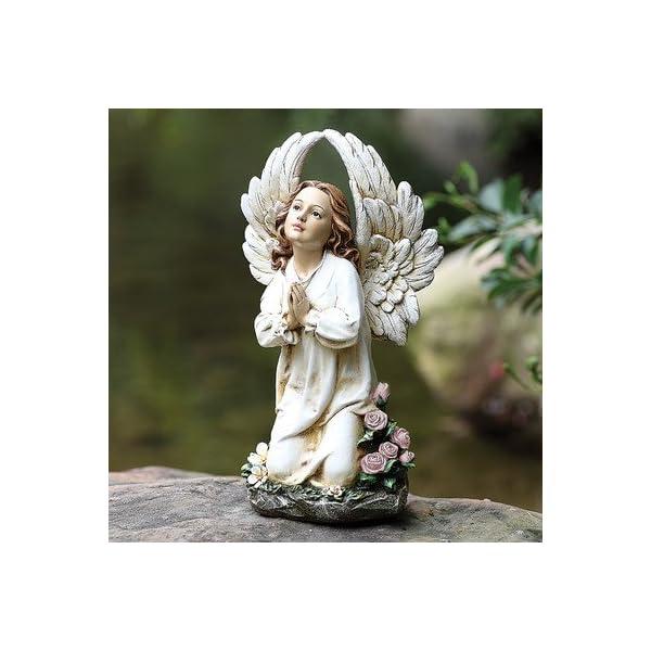 Kneeling-Angel-Garden-Statue