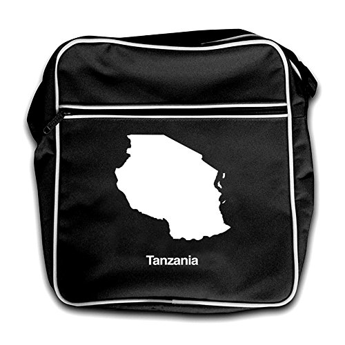 Silhouette Tanzania Tanzania Black Bag Retro Silhouette Flight Retro Bag Flight Red dXCnx7q7w6