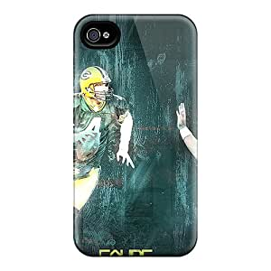 Perfect Hard Cell-phone Case For Iphone 6plus (nuK15420IlWZ) Custom Colorful Green Bay Packers Series