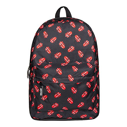 Over Rolling adults RockSax Unisex Backpack Lips All Stones awYxw8tdq