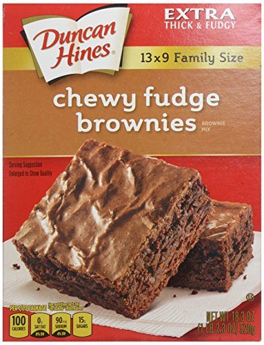 Duncan Hines Fudge Brownie Family Size - 18.3 oz