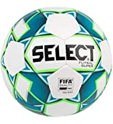 Select Futsal Super - White/Blue/Green, Senior