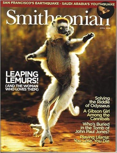 Prenota il download in pdf Smithsonian Magazine (April 2006, Vol. 37, No. 1) - Leaping Lemurs! PDF