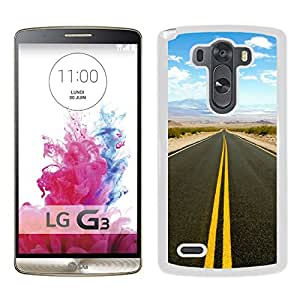 New Beautiful Custom Designed Cover Case For LG G3 With Road To Death Valley (2) Phone Case
