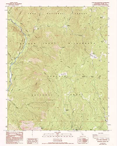 1994 Historical YellowMaps Cheyenne South WY topo map 1:24000 Scale 7.5 X 7.5 Minute 26.9 x 21.7 in