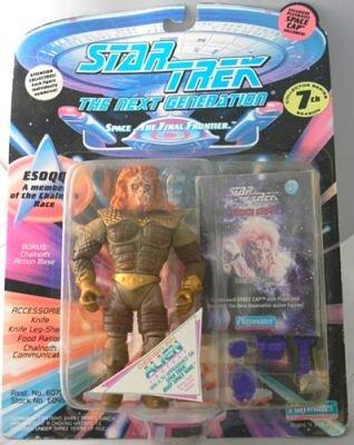 1 X Star Trek ESOQQ la figura de acción de la próxima generación