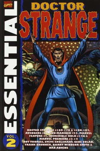 Price comparison product image Essential Dr Strange: Volume 2: Doctor Strange #169-178 & 180-183, Avengers #61, Sub-Mariner #22, Marvel Feature #1, Incredible Hulk #126 and More (v. 2)
