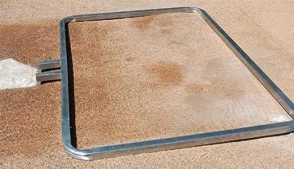 Amazon.com : Trigon Sports Procage Softball Batters Box Template, 3 ...