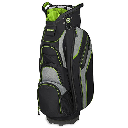 (Datrek Golf SGO Cart Bag (Black/Charcoal/Lime))