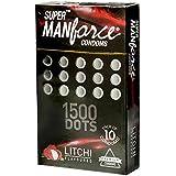 Manforce Super XXX Dotted Condoms - 10 Count (Litchi)