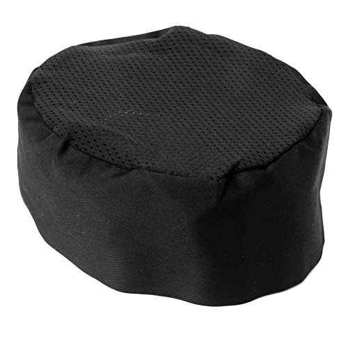 - Chefs Hat Breathable Mesh Top Skull Cap Adjustable Size 21.6