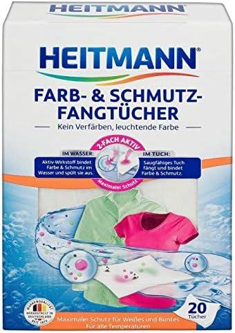Heitmann Cuidado Color Ropa - Papel Limpieza Anti Manchas ...