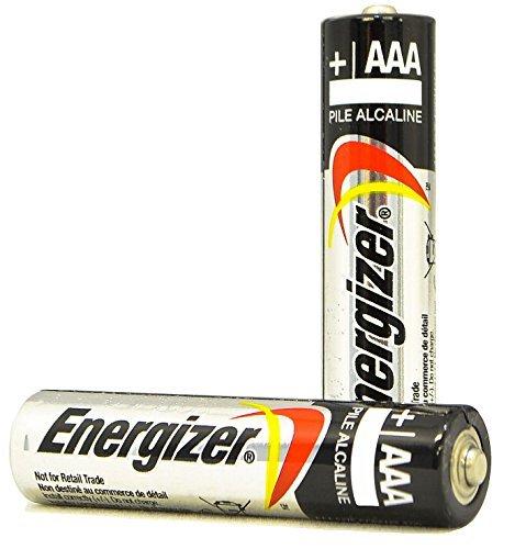Pack of 50 Energizer E92 AAA Alkaline Battery - Bulk Pack