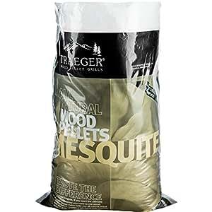 Traeger Madera dura pellets Mesquite, 9kg Bolsa