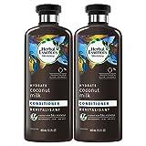 Herbal Essences Bio:renew Coconut Milk Conditioner, 13.5 Fluid Ounces Paraben Free (Pack of 2)