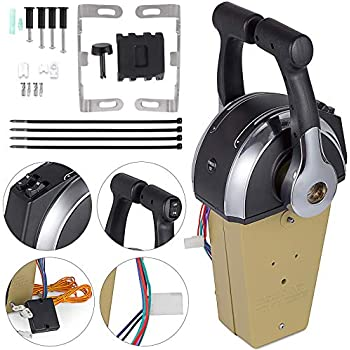 Outboard Remote Control Kit For Mercury 881170A13 Motor Control Single Engine